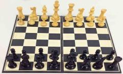 Wood Staunton Chess Set