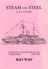 Steam and Steel - Quick Play Rules for Naval Wargames 1880-1906