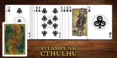Steampunk Cthulhu Playing Cards