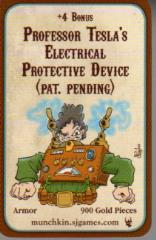 Munchkin Steampunk - Professor Tesla's Electrical Protective Device (Pat. Pending)