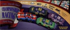 Stock Car Championship Racing Card Game, The