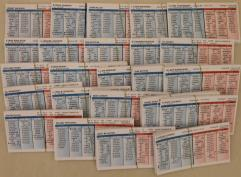 1973 Player Cards