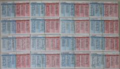 1924 Player Cards