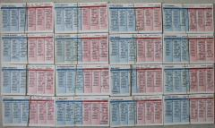1955 Player Cards