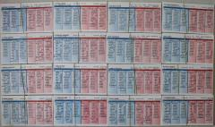 1957 Player Cards