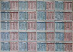 1965 Player Cards