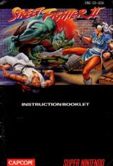 Street Fighter II Instruction Manual