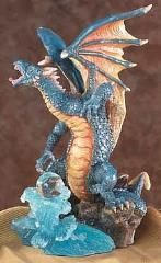 Blue Dragon w/Water Orb