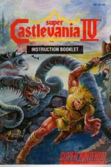 Super Castlevania IV Instruction Manual