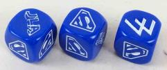 Hero Dice - Superman/Lex Luthor, Blue