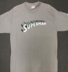 Superman Lettering T-Shirt (L)