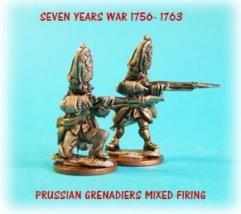 Prussian Grenadiers Mixed Firing