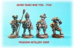 Prussian Artillery Crew
