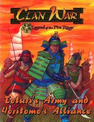 Toturi's Army and Yoritomo's Alliance Expansion Book