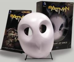 Batman - The Court of Owls (Book & Mask Set)