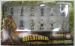 Adventurers, The - The Temple of Chac - Pre-Painted Miniatures Set