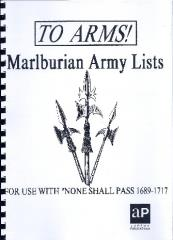 None Shall Pass! - To Arms!, Marlburian Army Lists