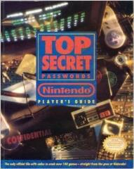 Top Secret Passwords - Nintendo Player's Guide