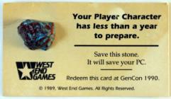 Gen Con Promotional Card