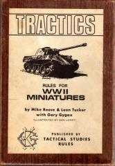 Tractics (1st Printing, Brown Box)