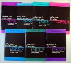 Traveller Adventure Collection - 7 Modules!