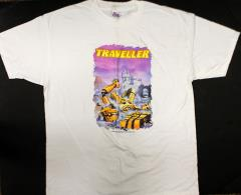 Traveller 4th Edition - Robot T-Shirt (XL)