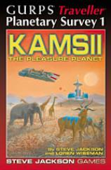 Planetary Survey #1 - Kamsii the Pleasure Planet