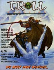 """Vol. 1, #1 """"Ice Grave Adventure by Robert Kuntz"""""""