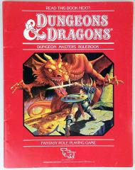 D&D Basic Set - Dungeon Master's Rulebook Only!