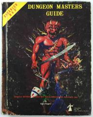 Dungeon Master's Guide (1st Edition, 4th Printing, Efreet Cover)