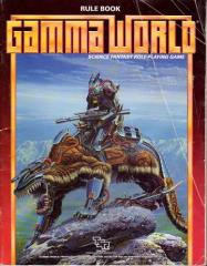 Gamma World Rulebook (3rd Edition, Warrior Riding Beast Cover)