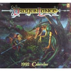 1992 Dragonlance Calendar