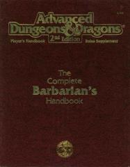 Complete Barbarian's Handbook, The (2nd Printing)