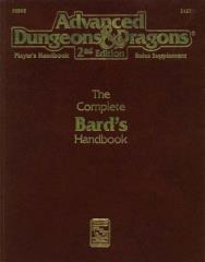 Complete Bard's Handbook, The (2nd Printing)