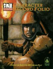 Character Record Folio (3.0)