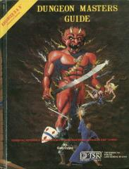 Dungeon Master's Guide (1st Edition, Efreet Cover)