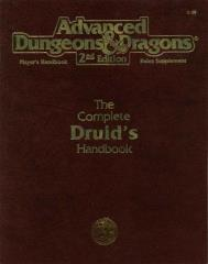 Complete Druid's Handbook, The (1st Printing)
