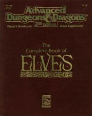 Complete Book of Elves, The (1st Printing)