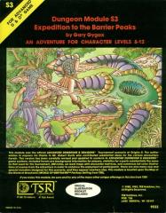 Expedition to the Barrier Peaks (2nd-6th Printings)