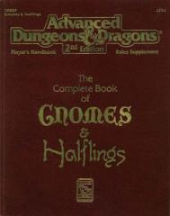 Complete Book of Gnomes and Halflings, The (2nd Printing)