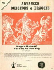 Hall of the Fire Giant King (2nd-4th Printings)