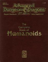 Complete Book of Humanoids, The (2nd Printing)