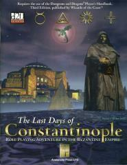 Last Days of Constantinople, The