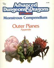 Monstrous Compendium - Outer Planes Appendix