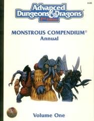 Monstrous Compendium Annual #1