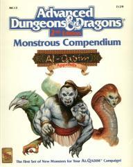 Monstrous Compendium Al-Qadim Appendix