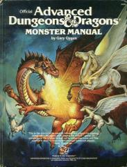 Monster Manual (2nd Cover, Orange Spine)