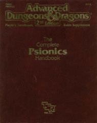 Complete Psionics Handbook, The (2nd Printing)