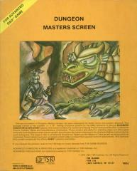 Dungeon Master's Screen (2nd-6th Printings)