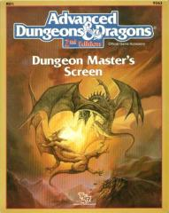 Dungeon Master's Screen w/Terrible Trouble at Tragidore